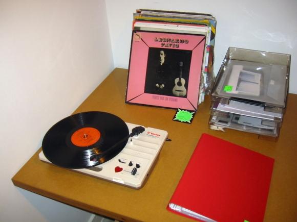 Vinyl collection + Portfolios
