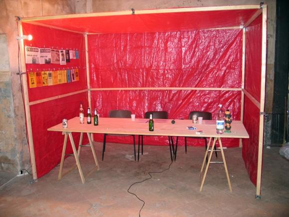 24/7 - Zapatista Style TV Set