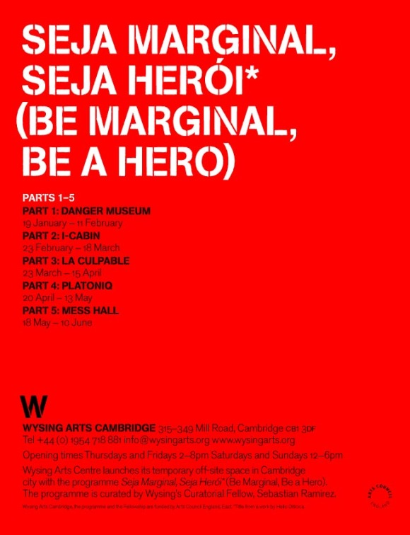 Seja Marginal Seja Heroi (Frieze Ad)