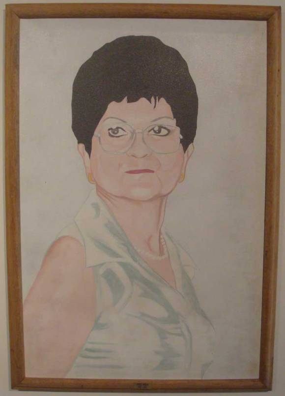 Mónica Restrepo — Victoria Garnica de Bromet, Decana Facultad Artes Visuales 1992-2005; por Wilson Díaz (2006)