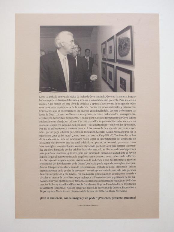 Comando Libre S-11 | El caso Goya (2008)