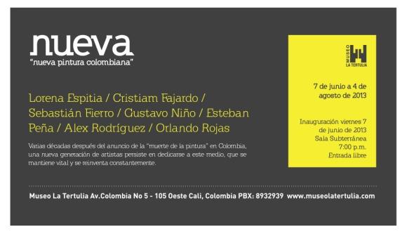 Nueva Nueva Pintura Colombiana @ Museo La Tertulia