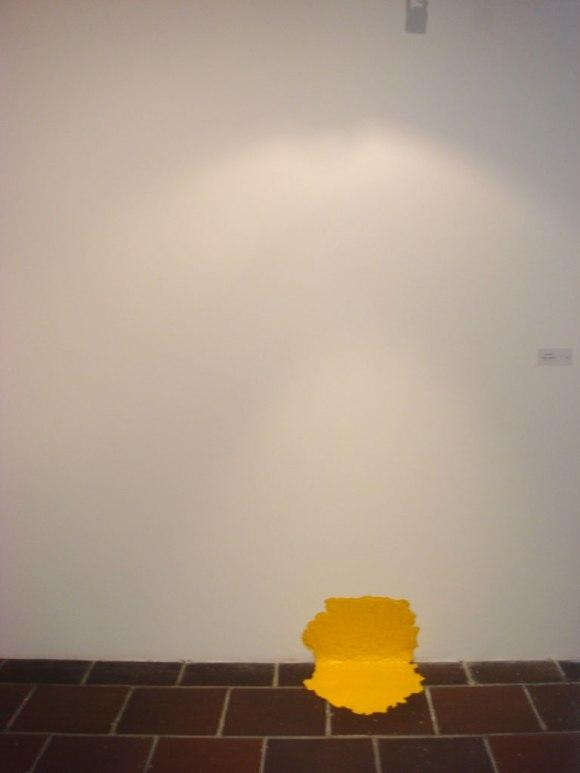 Gustavo Nino — Pintura Amarilla (2010)