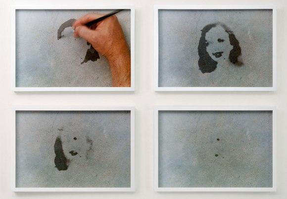 Oscar Munoz — Proyecto para un Memorial (2005)